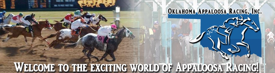 OK Appaloosa Racing - Home